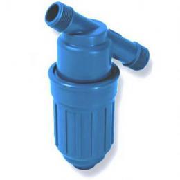 """樹脂製フィルター 3/4""""肥料/薬用ブルーフィルター"""